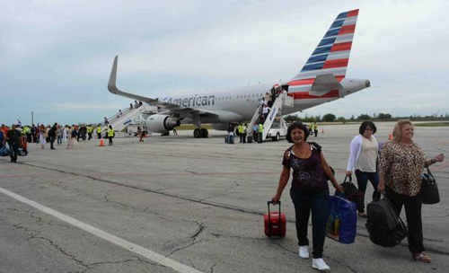 US airlines flights to Cuba behave as expected, says Cuban official
