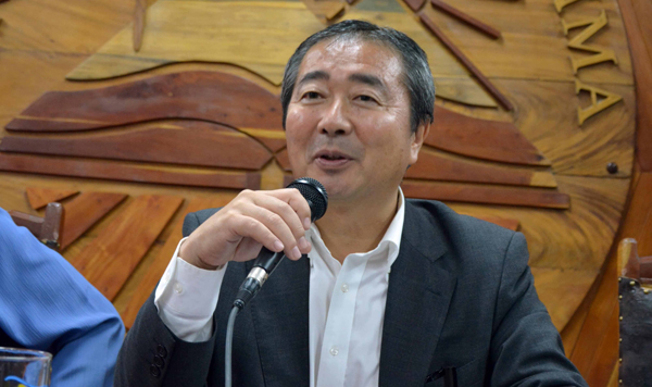Japanese Ambassador in Cuba Visits Agricultural Sites in Camaguey