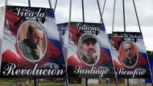 Posthumous commemoration for the historic leader of the Cuban Revolution in Santiago de Cuba