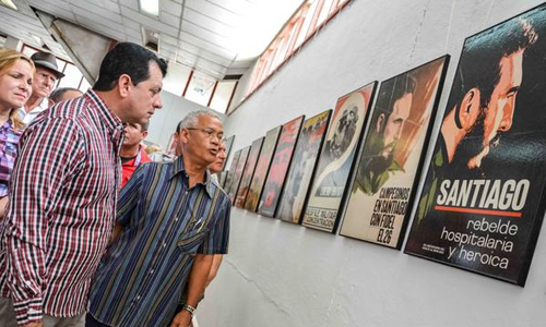 Abiertas exposiciones sobre Fidel y el PCC en Las Tunas