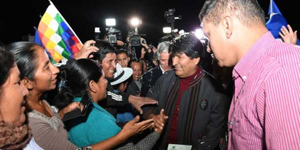 Evo Morales enjoys excellent health after undergo surgery in Havana