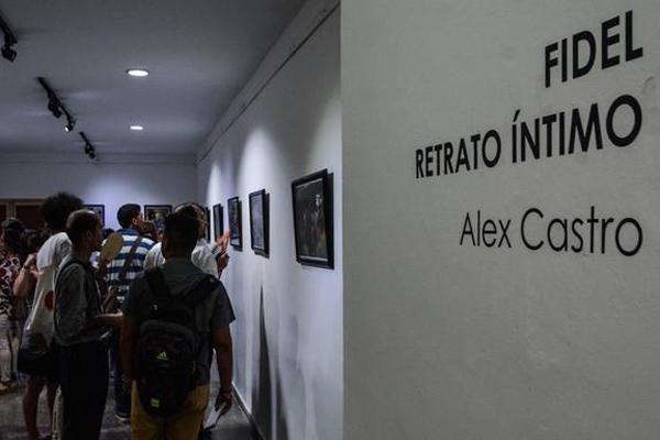 L'exposition Fidel, portrait intime est inaugurée
