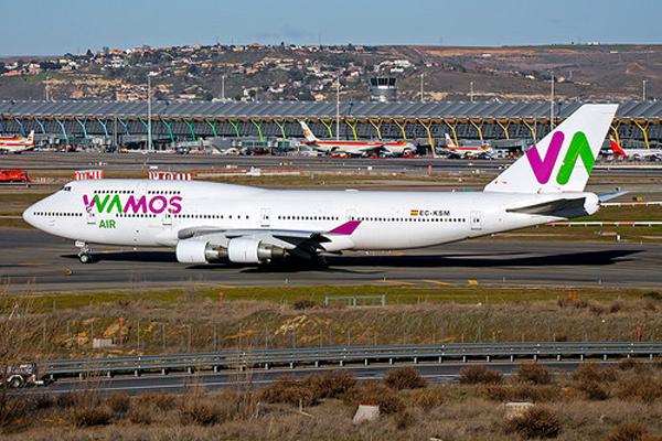 La compagnie aérienne Wamos Air arrivera bientôt à Cuba depuis l'Espagne