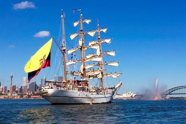 Arriba este sábado a La Habana buque escuela de Ecuador