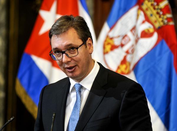 Intensa jornada de actividades cumple Presidente serbio en Cuba
