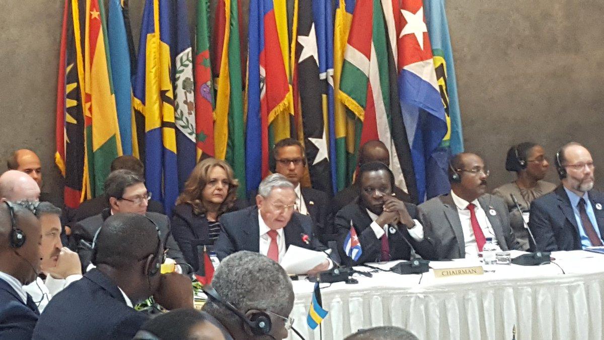 Raúl Castro souligne l'importance de l'unité dans les Caraïbes