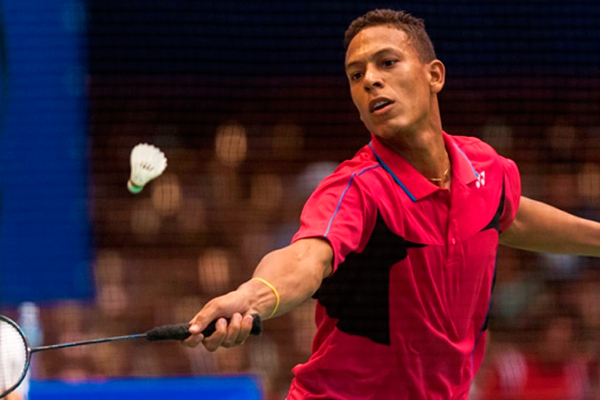 Cuban badminton player climbs 54 spots in world ranking