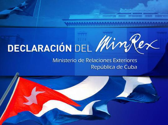 Statement by the Cuban Ministry of Foreign Affairs on the situation in Latin America and the Caribbean