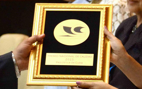 Entregarán este viernes Premio Nacional de Calidad