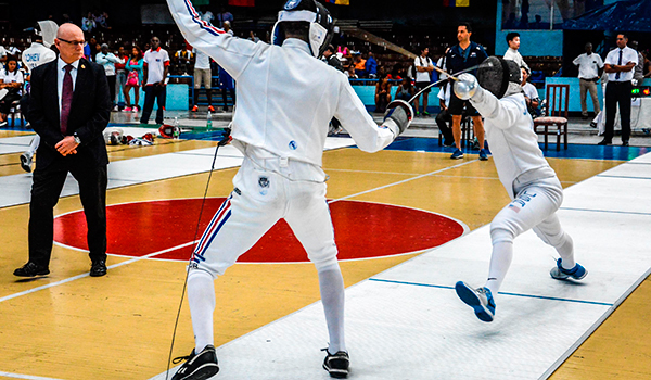 Cuban fencers will have a busy 2017