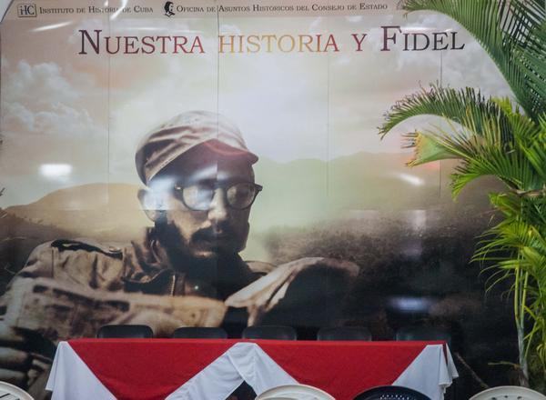 En la Feria del Libro, atractivo proyecto Nuestra historia y Fidel