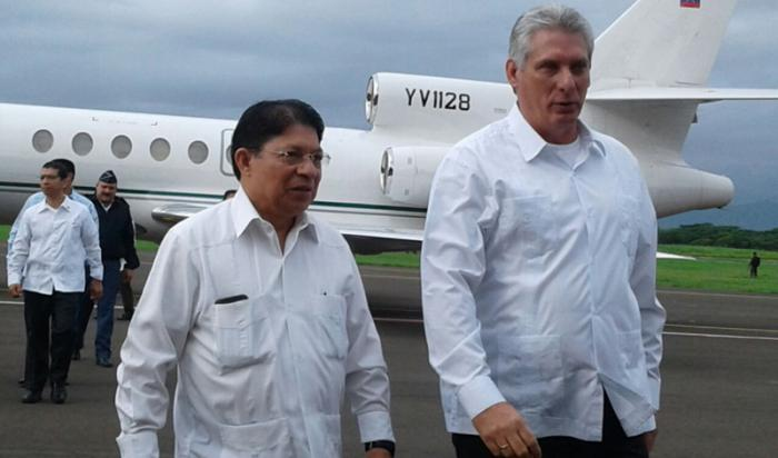 Cuban First Vice President: Nicaragua will always have Cuba's Support