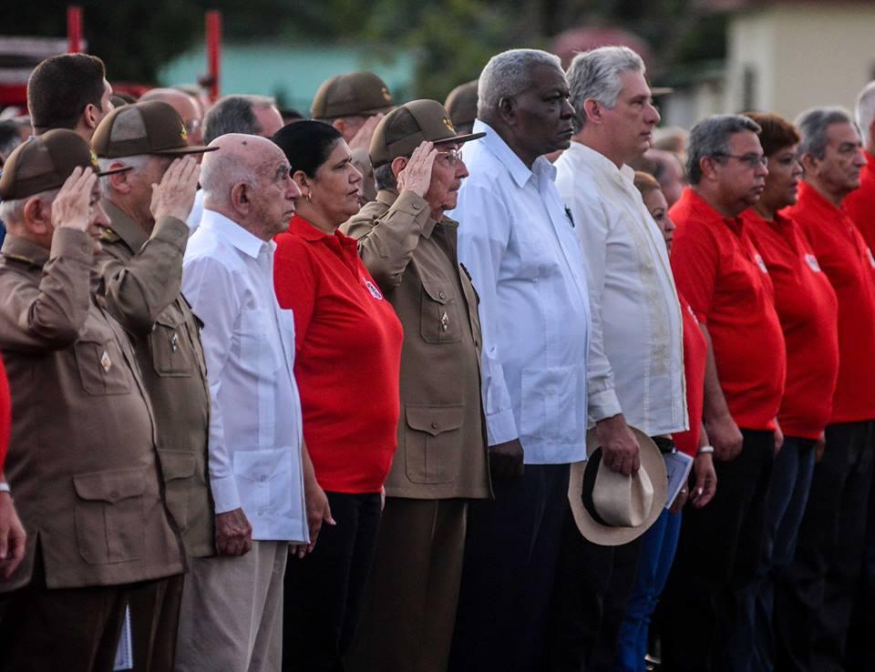Raúl préside la cérémonie nationale pour le 26 Juillet à Pinar del Río