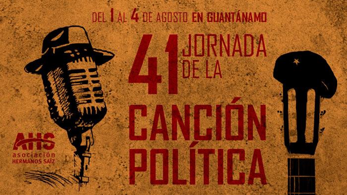 Jornada de la Canción Política dedicará al Che su edición 41