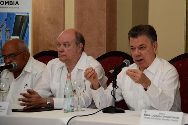 President of Colombia thanks Cuban support in the peace process