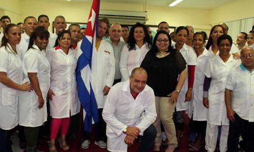 Regresa hoy a Cuba brigada médica en Perú