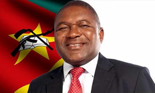 Filipe Jacinto Nyusi, President of the Republic of Mozambique.