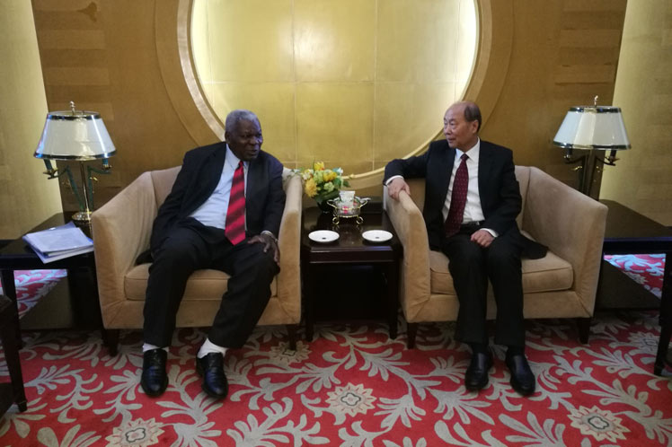 Cuban President of the Parliament visits China