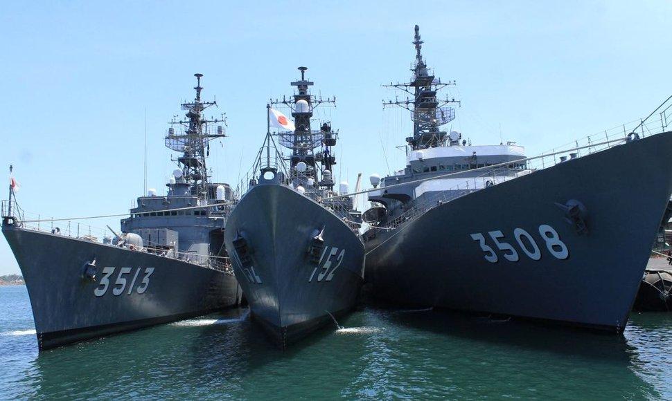 Arribará a La Habana escuadrón naval japonés