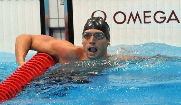 Cuban swimmer Hanser Garcia wins bronze in Barcelona