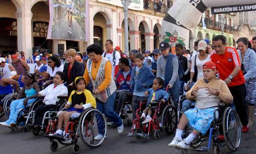 Cubanos corrieron hoy en Maratón de la Esperanza