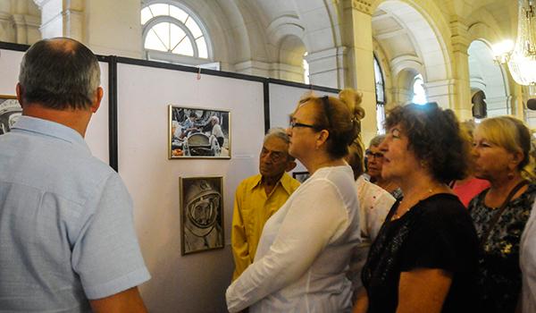 Abierta en La Habana exposición homenaje a la primera mujer cosmonauta