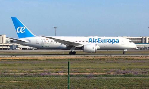 Air Europa incorpora moderno avión para viajes a Cuba