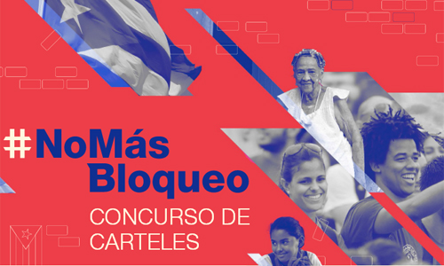 Cuba launches against-US-blockade-themed poster contest