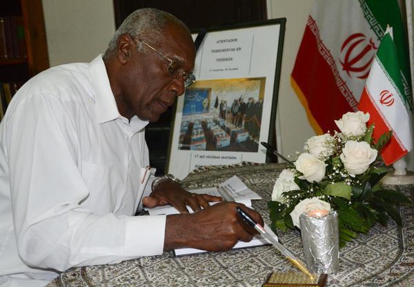 Ofrece Cuba condolencias a Irán tras atentados terroristas