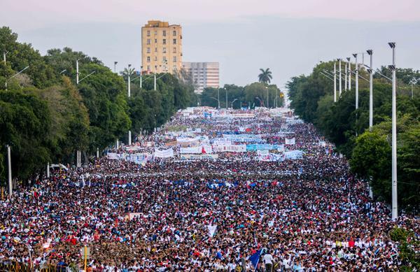 Repercusión internacional por el Primero de Mayo en Cuba