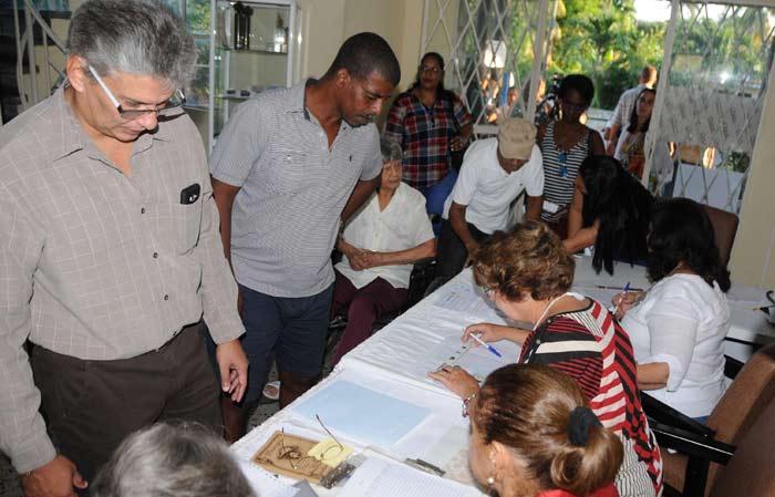 Más de siete millones de cubanos acudieron a las urnas este domingo