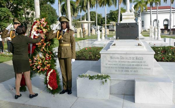 Honran a Mariana Grajales, madre de todos los cubanos