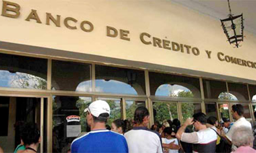 Resultado de imagen para site:www.acn.cu Banco de Crédito y Comercio