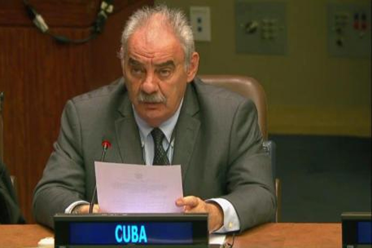 Cuba declares its solidarity with the Palestinian people in the UN