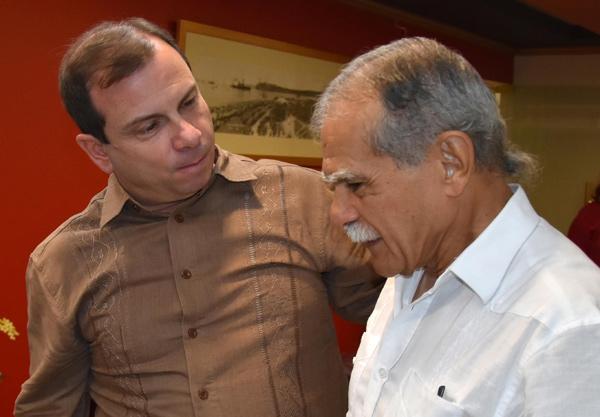 Oscar López Rivera se despidió feliz de Cuba