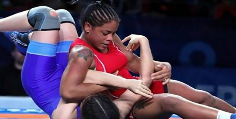 Cuban Sanchez to fight for title at U23 world´s women´s freestyle wrestling