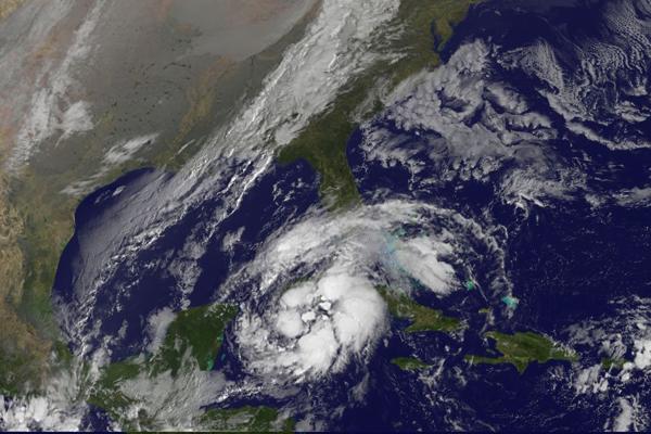 Próxima a occidente cubano se forma depresión tropical número 18