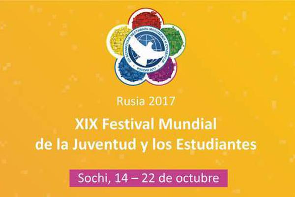 Rumbo a Sochi delegación cubana al XIX Festival de la Juventud y los Estudiantes