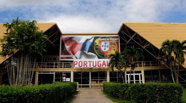 Pabellón de Portugal, en el recinto ferial EXPOCUBA, sede de la XXXV Feria Internacional de La Habana, FIHAV 2017, el 27 de octubre de 2017. ACN FOTO/Omara GARCÍA MEDEROS
