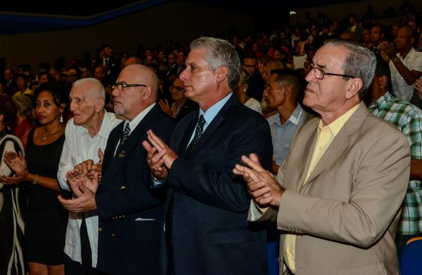 Asistió primer vicepresidente cubano gala de apertura de AFIDE 2017