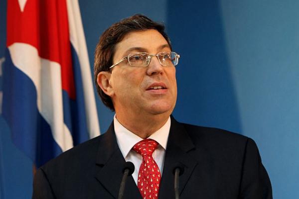 Canciller cubano rechaza el agresivo discurso de Trump en la ONU