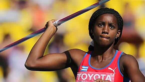 Cuban Heptathlonist wins Bronze Medal in France