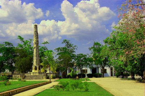 Le Parc de la Constitution est le siège de la Croisade Littéraire