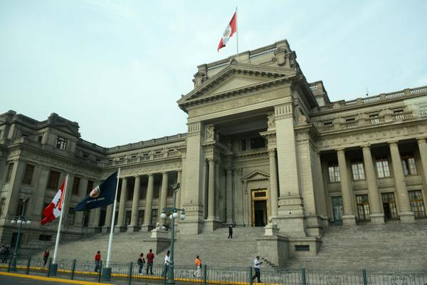 Palacio de Justicia en Lima, ciudad sede de la VIII Cumbre de las Américas. Perú, 9 de abril de 2018. ACN FOTO/Roberto SUÁREZ/Juventud Rebelde
