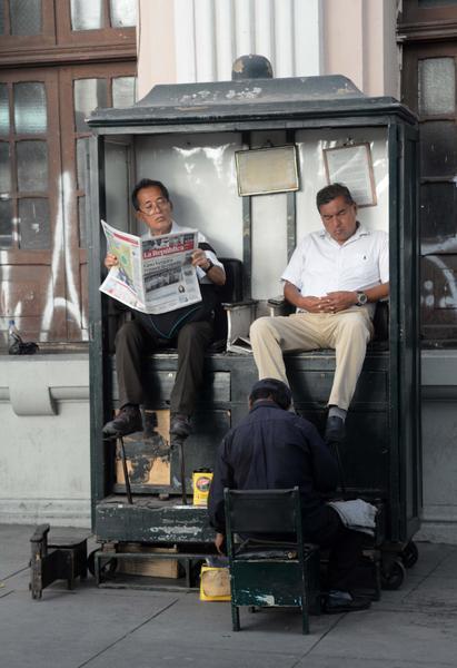 habitantes de la ciudad de Lima, sede de la VIII Cumbre de las Américas. Perú, 9 de abril de 2018. ACN FOTO/Roberto SUÁREZ/Juventud Rebelde