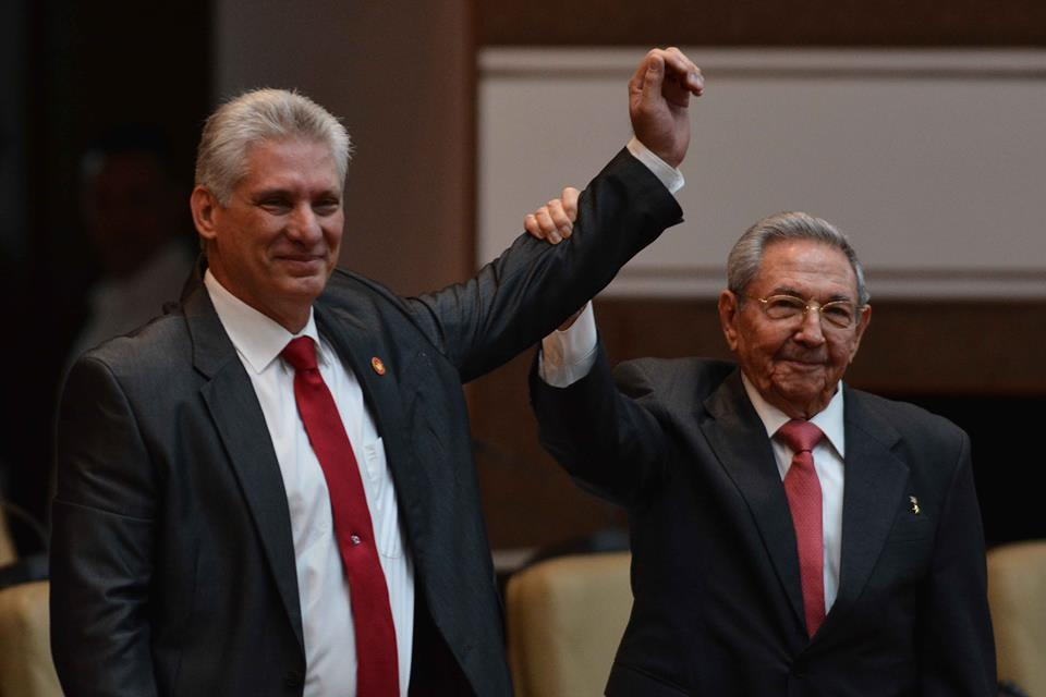 Miguel Díaz-Canel elected President of the Council of State of Cuba