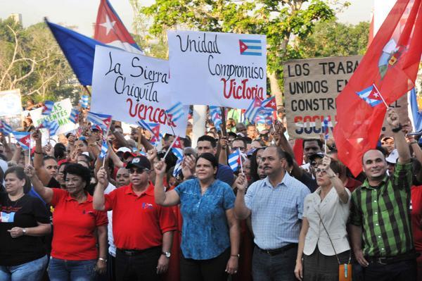 Realiza La Habana acto por el Primero de Mayo