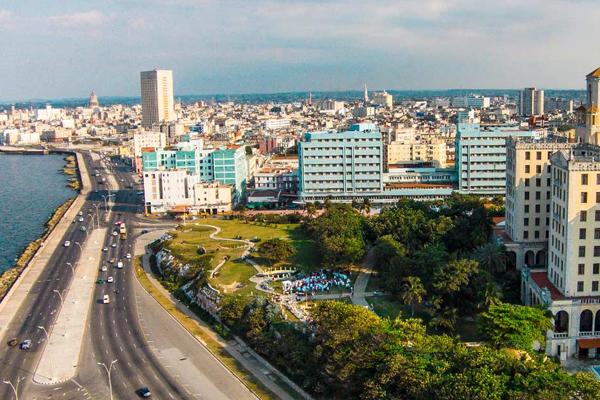 vue aérienne de La Havane. Photo: ACN