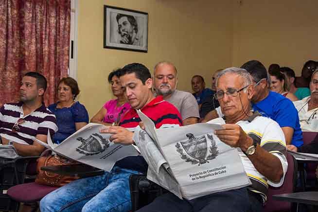 Culminan esta semana en Cuba asambleas para opinar sobre reforma constitucional