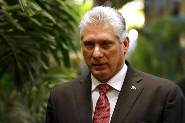 Recibió Díaz-Canel al presidente de Surinam